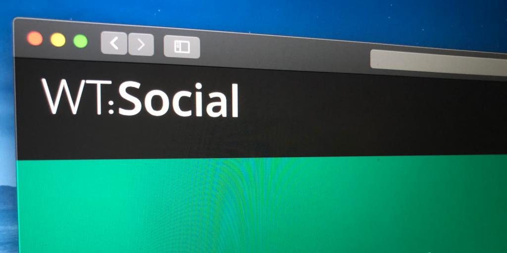 стартова сторінка WT: Social
